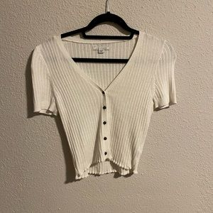 American eagle button down blouse